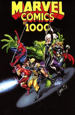 Marvel Comics #1000 (Variant Cover) (Softcover 80 pp) #1.96