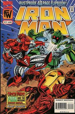 Iron Man Vol. 1 (1968-1996) (Comic book) #317