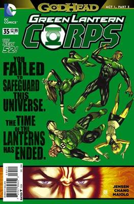 Green Lantern Corps Vol. 3 (2011-2015) (Comic-Book) #35