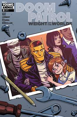 Doom Patrol: Weight of the Worlds (2019-) (Comic Book) #5