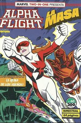 Alpha Flight vol. 1 / Marvel Two-in-one: Alpha Flight & La Masa vol.1 (1985-1992) (Grapa 32-64 pp) #60