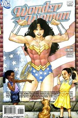 Wonder Woman Vol. 3 (2006-2011) (Comic Book) #25