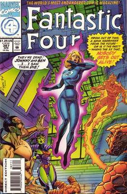 Fantastic Four Vol. 1 (1961-1996) (saddle-stitched) #387
