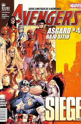 Avengers: Siege - Asgard bajo sitio (Grapa) #4