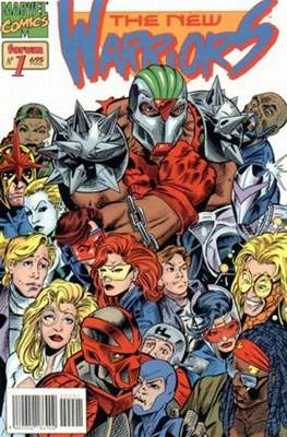 The New Warriors vol. 2 (1995) (Rústica. 17x26. 96 páginas. Color. (1995).) #1