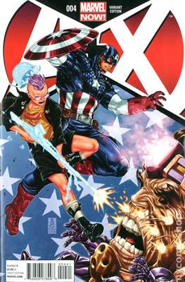 A+X (Variant Covers) (Comic Book) #4.2