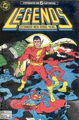 Legends (1987-1988) (Grapa 36 pp) #5