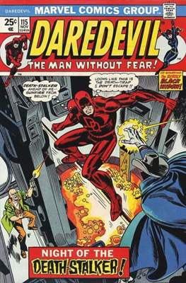Daredevil Vol. 1 (1964-1998) (Comic Book) #115