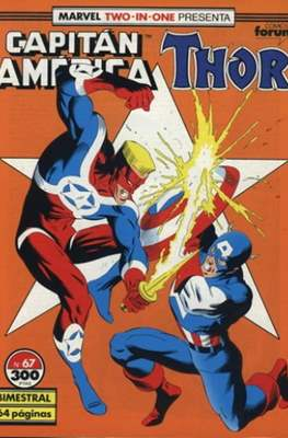 Capitán América Vol. 1 / Marvel Two-in-one: Capitán America & Thor Vol. 1 (1985-1992) (Grapa 32-64 pp) #67