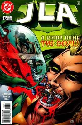 JLA Vol. 1 (1997-2006) (Comic-Book) #6
