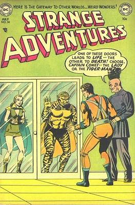 Strange Adventures (Comic Book) #34