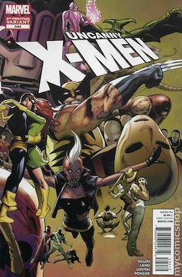 The Uncanny X-Men (1963-2011 Variant Cover) #544