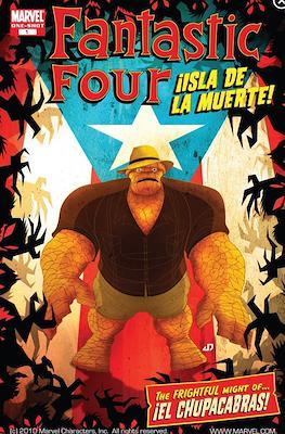 Fantastic Four: ¡Isla De La Muerte!