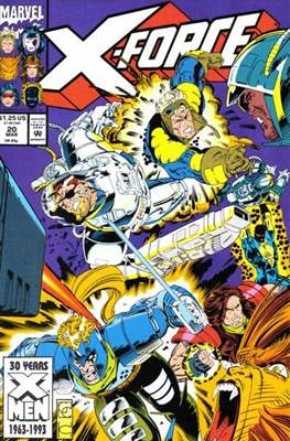 X-Force Vol. 1 (1991-2002) (Comic Book) #20