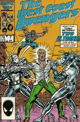 West Coast Avengers Vol. 2 (Comic-book. 1985 -1989) #7