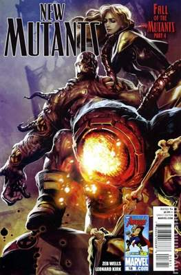 New Mutants Vol. 3 (Comic Book) #18