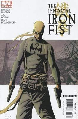 The Immortal Iron Fist (2007-2009) (Comic Book) #3