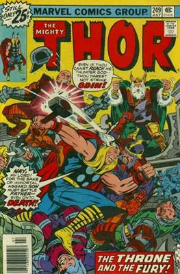 Journey into Mystery / Thor Vol 1 (Comic Book) #249