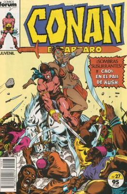 Conan el Bárbaro (1983-1994) (Grapa. 19x27. 36/32/24 páginas. Color.) #27