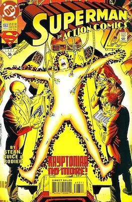 Action Comics Vol. 1 (1938-2011; 2016-) (Comic Book) #693
