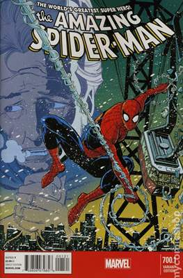 The Amazing Spider-Man (Vol. 2 1999-2014 Variant Covers) (Grapa) #700.1
