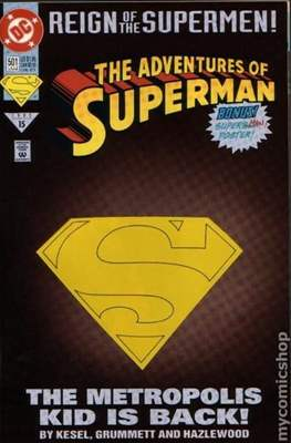 Superman Vol. 1 / Adventures of Superman Vol. 1 (1939-2011 Variant Cover) (Comic Book) #501