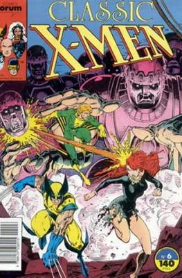 Classic X-Men Vol. 1 (1988-1992) (Grapa 32 pp) #6