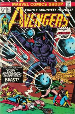 The Avengers Vol. 1 (1963-1996) (Grapa) #137