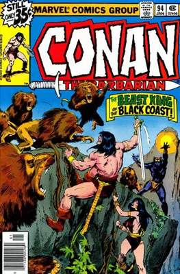 Conan The Barbarian (1970-1993) (Comic Book 32 pp) #94