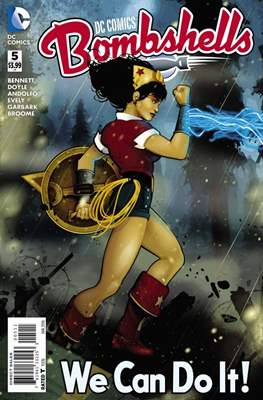 DC Comics: Bombshells (Comic Book) #5