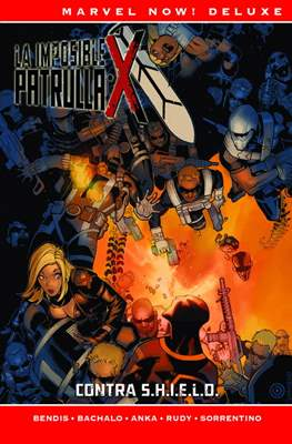La Patrulla-X de Brian Michael Bendis. Marvel Now! Deluxe (Cartoné.) #5