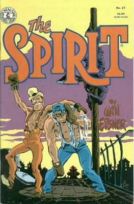 The Spirit (1983-1992) (Comic book. 32 pp) #27