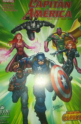 Capitán América - Edición especial Exclusiva Argentina Comic-Con