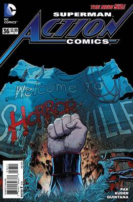 Action Comics Vol. 2 (2011-2016) (Grapa) #36