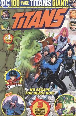 Titans DC 100-Page Giant (2020) (Softcover 100 pp) #1