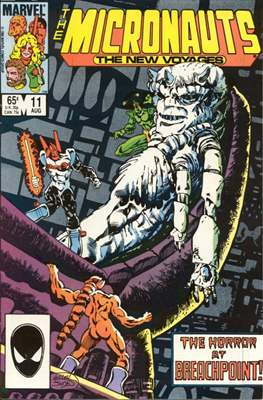 The Micronauts The New Voyages (Comic Book) #11