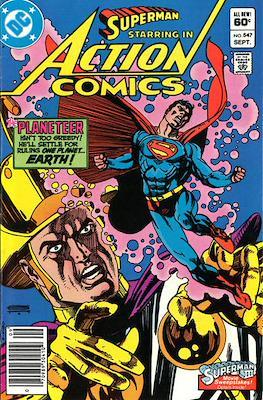 Action Comics Vol. 1 (1938-2011; 2016-) (Comic Book) #547