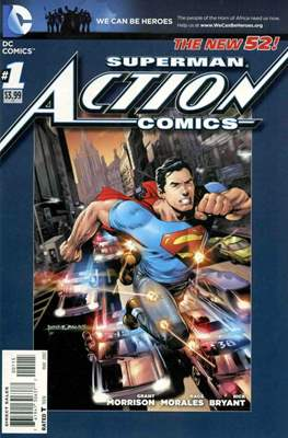 Action Comics (Vol. 2 2011-2016 Variant Covers) (Comic Book) #1.6