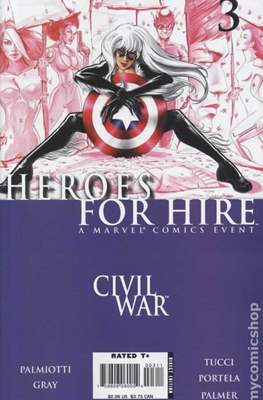 Heroes for Hire Vol. 2 (2006-2007) #3