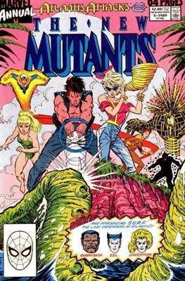 The New Mutants Annual (Grapa) #5