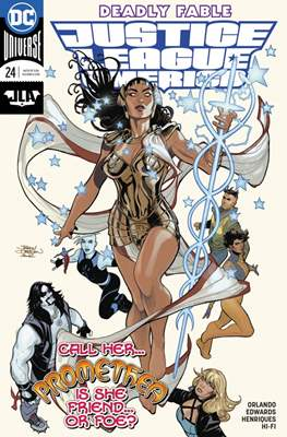 Justice League of America vol. 5 (2017-2018) (Grapa) #24