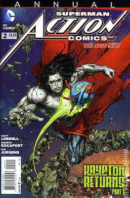 Action Comics Vol. 2 Annual (2012-2014) (Comic book) #2