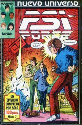PSI Force (Grapa 24 pp) #7