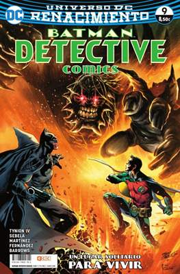 Batman: Detective Comics. Renacimiento (Rústica 72 pp) #9