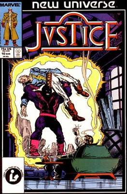 Justice. New Universe (1986) #10