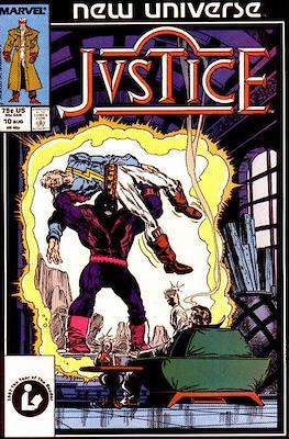Justice. New Universe (1986) (Grapa.) #10