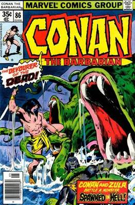 Conan The Barbarian (1970-1993) (Comic Book 32 pp) #86