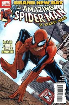 The Amazing Spider-Man Vol. 2 (1999-2014) (Comic-Book) #546
