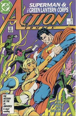 Action Comics Vol. 1 (1938-2011; 2016-) (Comic Book) #589