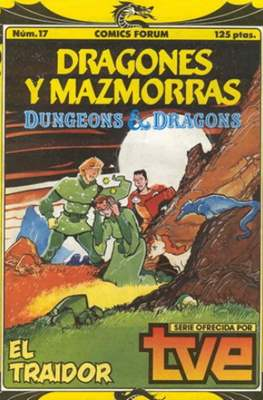 Dungeons and dragons. Dragones y mazmorras (Grapa 32 pp) #17